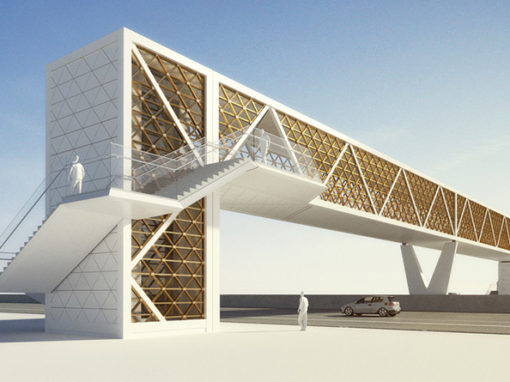 Pedestrian Bridge Doha
